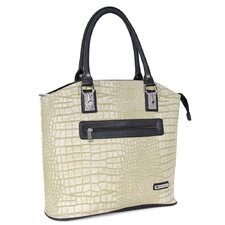 Croco Rollerbrief Friendly Handbag