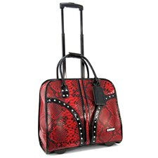 <strong>Cabrelli Inc</strong> Rhinestone Laptop Briefcase