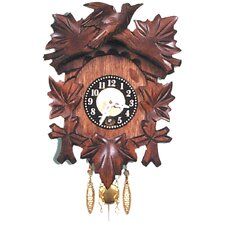 <strong>Black Forest</strong> Carved Wall Clock