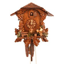 Chalet Style Cuckoo Clock with Beer Drinker