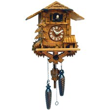 Cuckoo Clock with Music and Trees