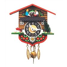 Chalet Carved Clock