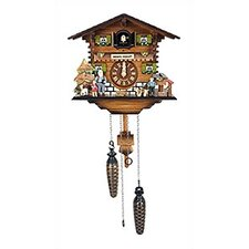 Large Chalet Clock with Music