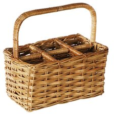 <strong>Eco Displayware</strong> Eco-Friendly 6 Bottle Wine Basket