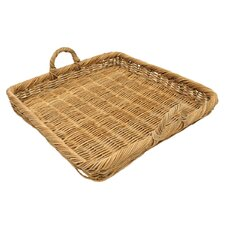Eco-Friendly Rolled Rim Display Basket with Handles