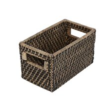 Eco-Friendly Lombok Weave Shelf Basket