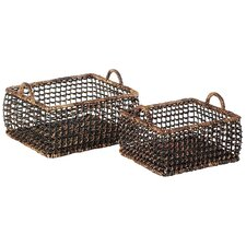 <strong>Eco Displayware</strong> Eco-Friendly Rectangular Small Basket