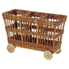 "Eco-Friendly 23"" 3 Compartment Cart"