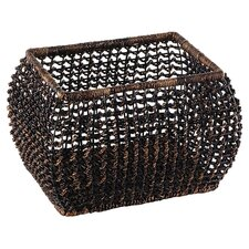Eco-Friendly Open Weave Basket