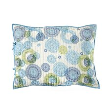 Medallion Cotton Pillow Sham