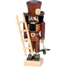 Ulbricht / Seiffener Nussknackerhaus Chimney Sweep Nutcracker in Natural Wood