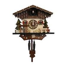 Engstler Battery-Operated Cuckoo Wall Clock