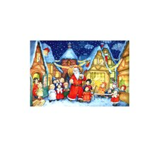 Small Santa and Kids Advent Calendar