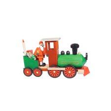 Richard Glaesser Santa in Train Incense Burner