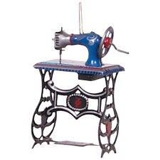 Tin Sewing Machine Ornament