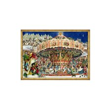 Merry-Go-Round Advent Calendar