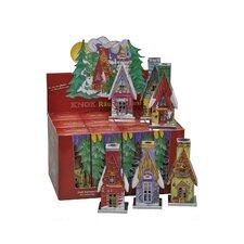Winter Scene Incense Burners (Box of 12)