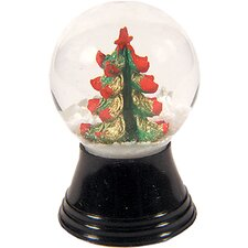 Mini Christmas Tree Snow Globe