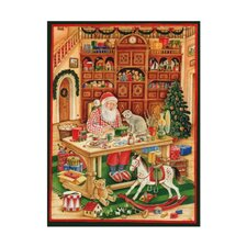 Large Santa Workshop Advent Calendar