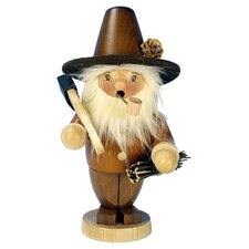 Christian Ulbricht Woodcutter Incense Burner in Natural Wood