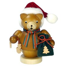 Christian Ulbricht Santa Bear Incense Burner