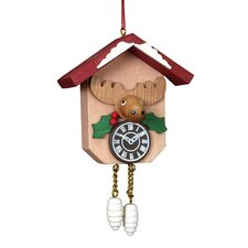 Christian Ulbricht Elk on Cuckoo Clock Ornament