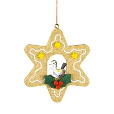 <strong>Alexander Taron</strong> Christian Ulbricht Star Shaped Gingerbread Cookie Ornament with Horse