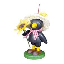 Christian Ulbricht Little Roamer Farmer Crow Ornament