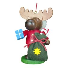Christian Ulbricht Little Roamer Santa Elk Ornament