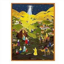 Large Star Advent Calendar with Bible Verses
