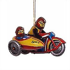 Tin Motorcycle Ornament