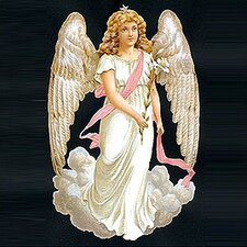 White Angel Standing Card