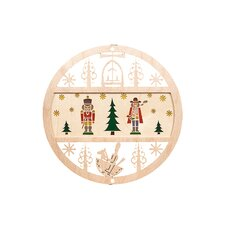 Nutcracker and Smoker Ornament