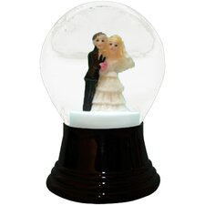 Bride and Groom Snowglobe