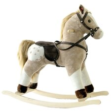 <strong>Alexander Taron</strong> Small Plush Rocking Horse