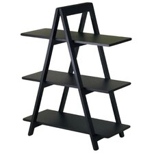 "Basics 38"" H  ""A"" Frame Shelf in Black"