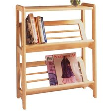 "<strong>Winsome</strong> Basics Tilted 30"" Bookcase"