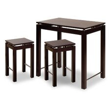 <strong>Winsome</strong> Linea 3 Piece Dining Set