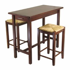 <strong>Winsome</strong> Winsome 3 Piece Counter Height Dining Set