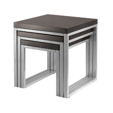 <strong>Winsome</strong> Jared 3 Piece Nesting Tables
