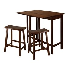 <strong>Winsome</strong> Lynnwood 3 Piece Dining Set
