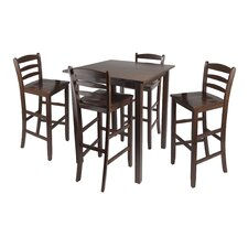 <strong>Winsome</strong> Parkland 5 Piece Counter Height Dining Set
