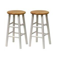 "Basics 24"" Barstool (Set of 2)"