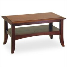<strong>Winsome</strong> Antique Walnut Coffee Table