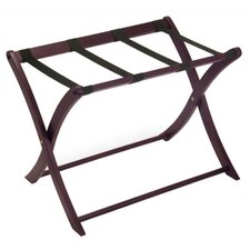 <strong>Winsome</strong> Espresso Luggage Rack w/ Curved Legs