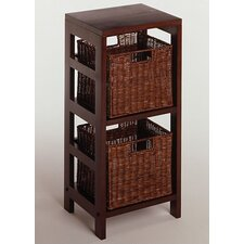 Espresso Storage Shelf and Baskets