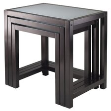 <strong>Winsome</strong> Copenhagen 3 Piece Nesting Tables