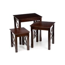 <strong>Winsome</strong> Xola 3 Piece Nesting Tables