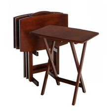 Regalia TV Table Set with Stand (Set of 4)
