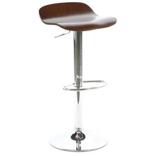 Kallie Air Lift Adjustable Height Bar Stool (Set of 2)